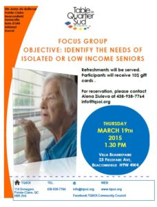 Seniors Focus Group