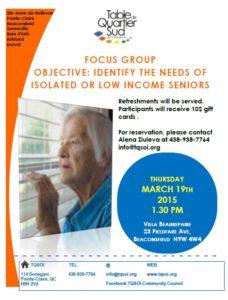 Seniors Focus Group