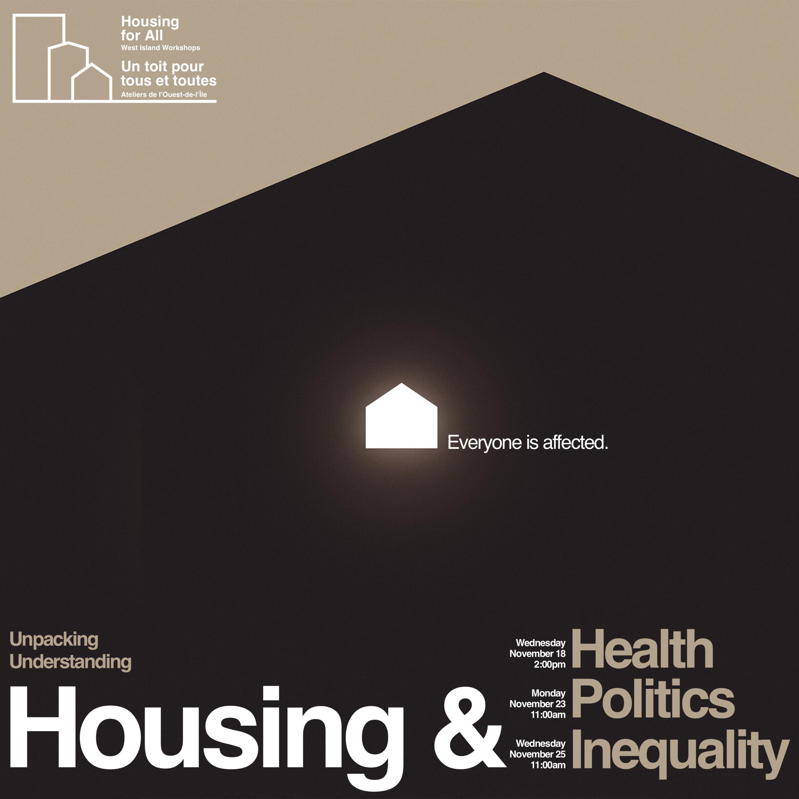 Webinar - Housing & Politics | Webinaire - Logement & politique